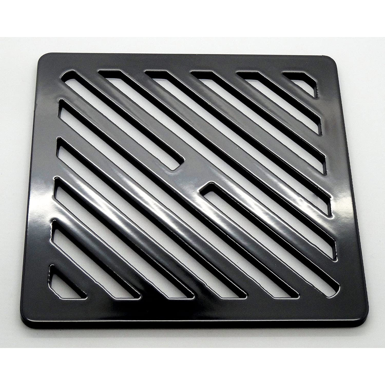 9.5 inch Square Solid Metal Steel Gully Grid Heavy Duty Drain Cover Grate Like cast Iron Stronger