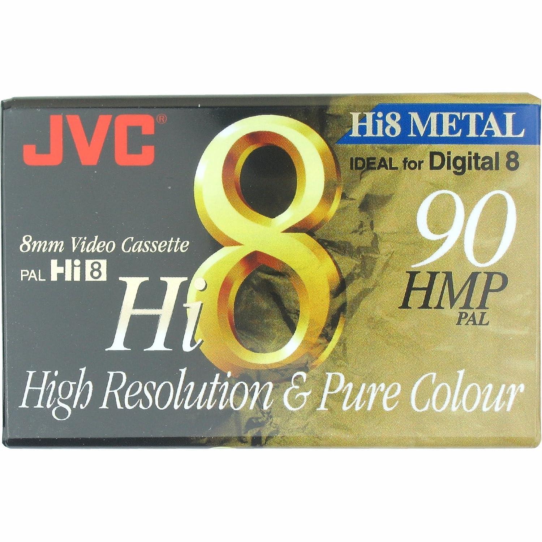 JVC Hi8 particelle metalliche in videocamera 8 mm Video cassette per Digital 8 registrazione 90 minuti detenzione PAL video for Resoltion alto e puro colore P 5-90 ore MP