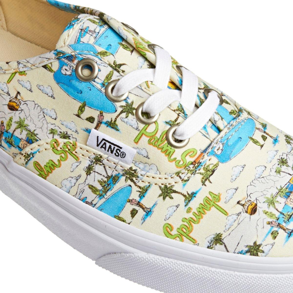 fd8618672d Vans Shoes Authentic (palm springs cloud cream true white)  Amazon.co.uk   Shoes   Bags