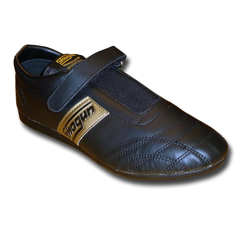 SHOGUN chaussures en cuir souple de Taekwondo - livraison gratuite, taille 42, noire