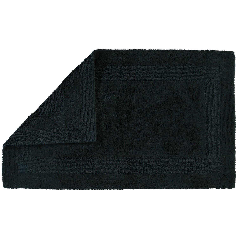 Cawö Wendeteppich Luxus 1000 schwarz - 901 Größe 70 x 120