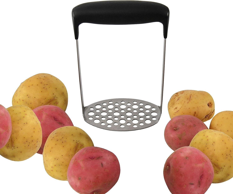 HOME-X Potato Masher, Kitchen Utensils for Making Baby Food, Applesauce, Guacamole