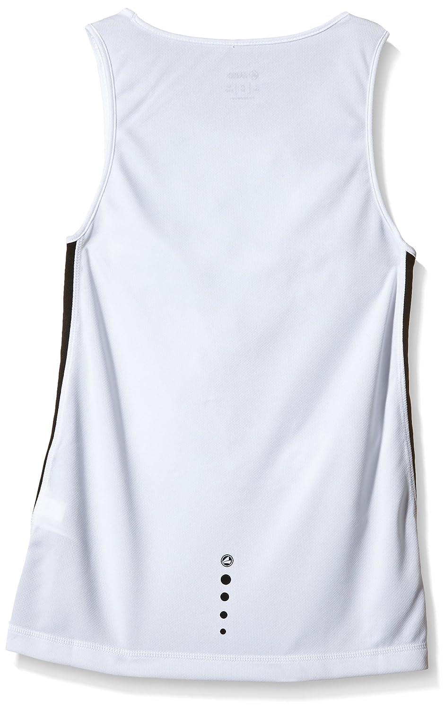 Color Negro y Blanco sin Mangas Jako Athletico Camiseta de Deporte para Hombre