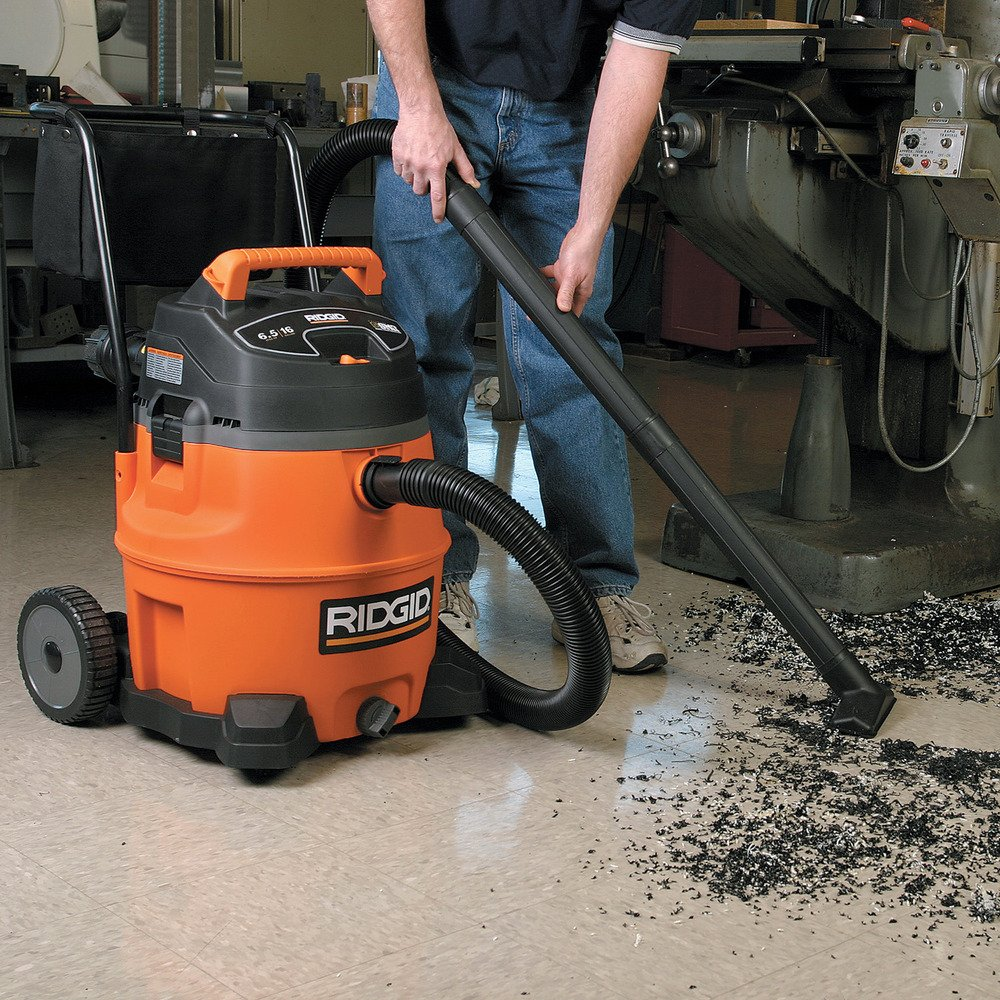 Amazon.com: Ridgid 31693 WD1851 16 Gallon 6.5 HP ...
