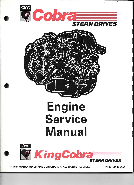 "Amazon.com : 1995 OMC Cobra/King Cobra ""HU"" Service Manual Set 503166 :  Sports & Outdoors"