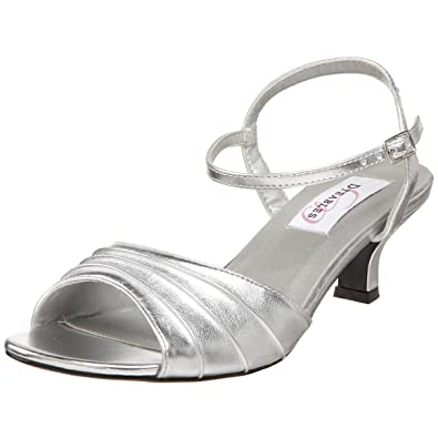 1e22b99e9e Amazon.com | Dyeables Women's Brielle Ankle-Strap Sandal | Heeled ...