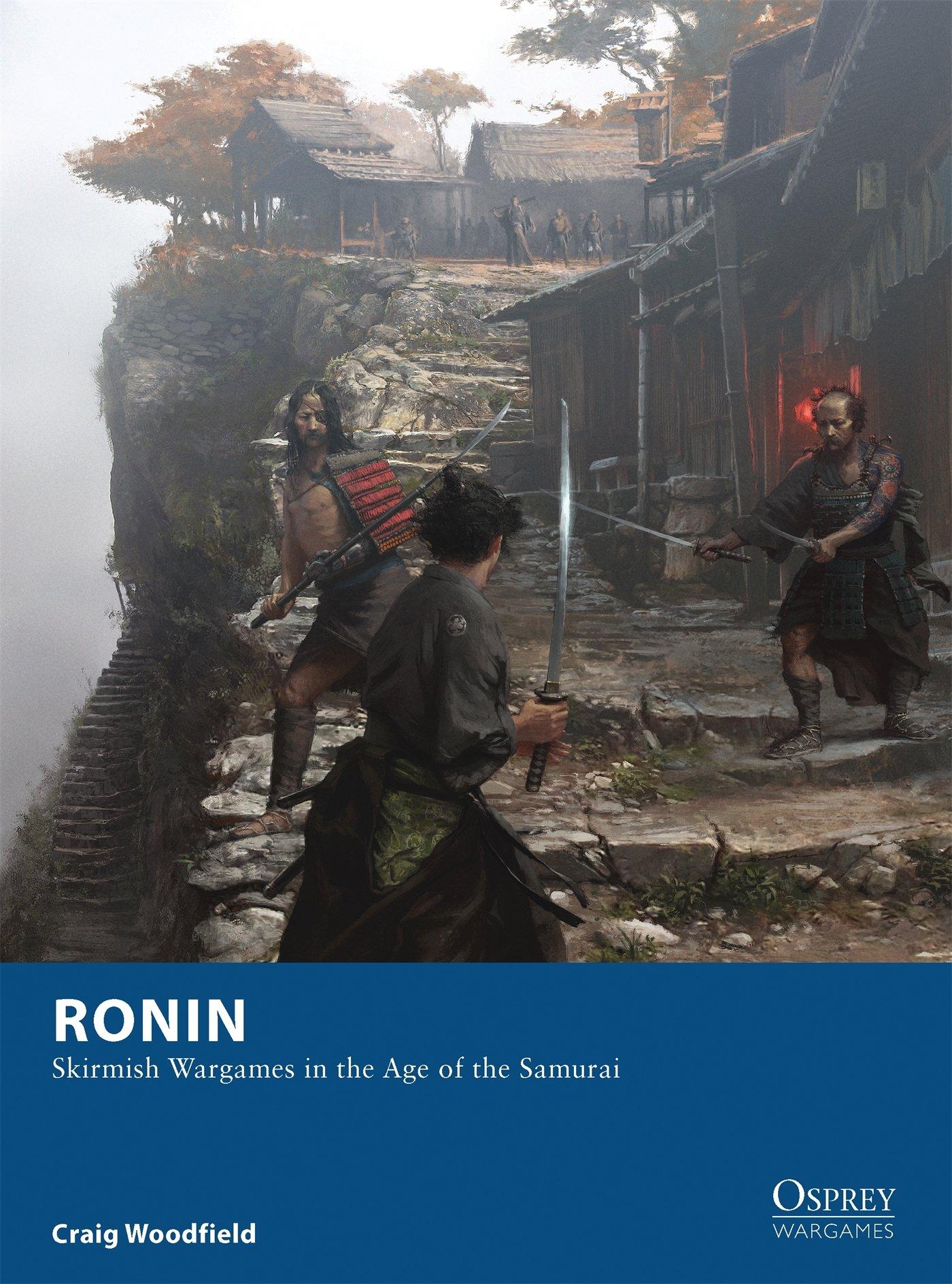 Ronin Skirmish Wargames Samurai Osprey product image