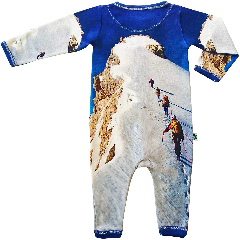 Summit Inchworm Alley Romper Unisex Baby Onesie Jumpsuit Playsuit 100/% Organic Cotton
