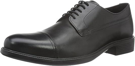 TALLA 43 EU. Geox Uomo Carnaby G, Zapatos de Cordones Derby Hombre
