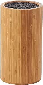 Davis & Waddell Essentials Bamboo Universal Knife Block