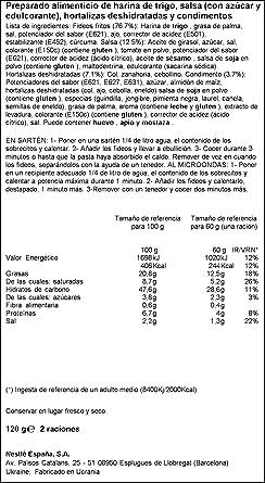 Maggi - Fideos Yakisoba Classic 120 g - [pack de 4]: Amazon.es: Alimentación y bebidas