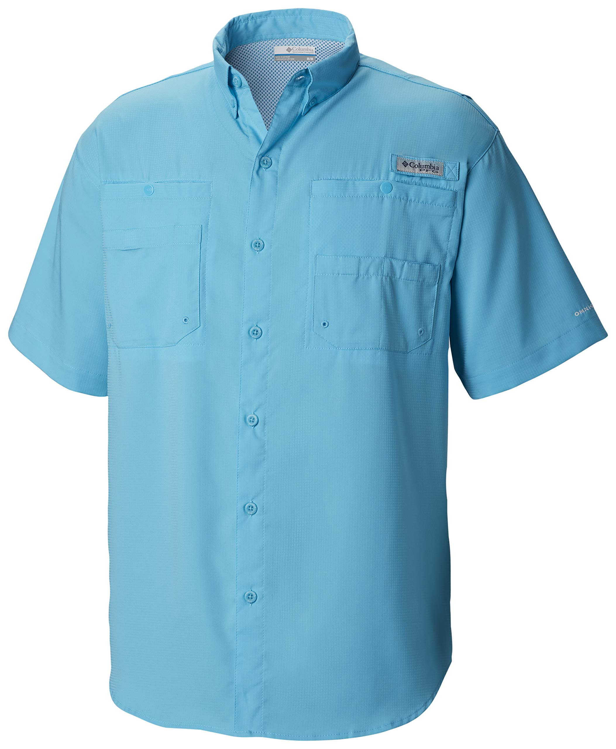 Columbia Men's Tamiami Ii Short Sleeve Shirt, Atoll, Small