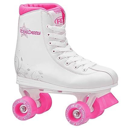 Roller Skates Amazon Com >> Roller Derby Skate Corp Roller Star 350 Girl S Quad Skate