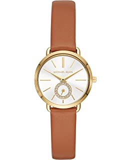 3a2534cf52b3 Amazon.com  Michael Kors Women s Lake Brown Watch MK2584  Watches
