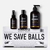 MANSCAPED Crop Essentials, Male Care Hygiene bundle, Includes Invigorating Body Wash, Moisturizing Ball Deodorant, High…
