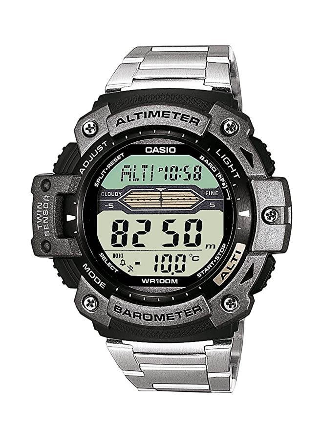 Amazon.com: Casio Sports Altimeter Thermometer SGW-300HD-1AVDR SGW-300HD-1 SGW300HD Watch: Watches