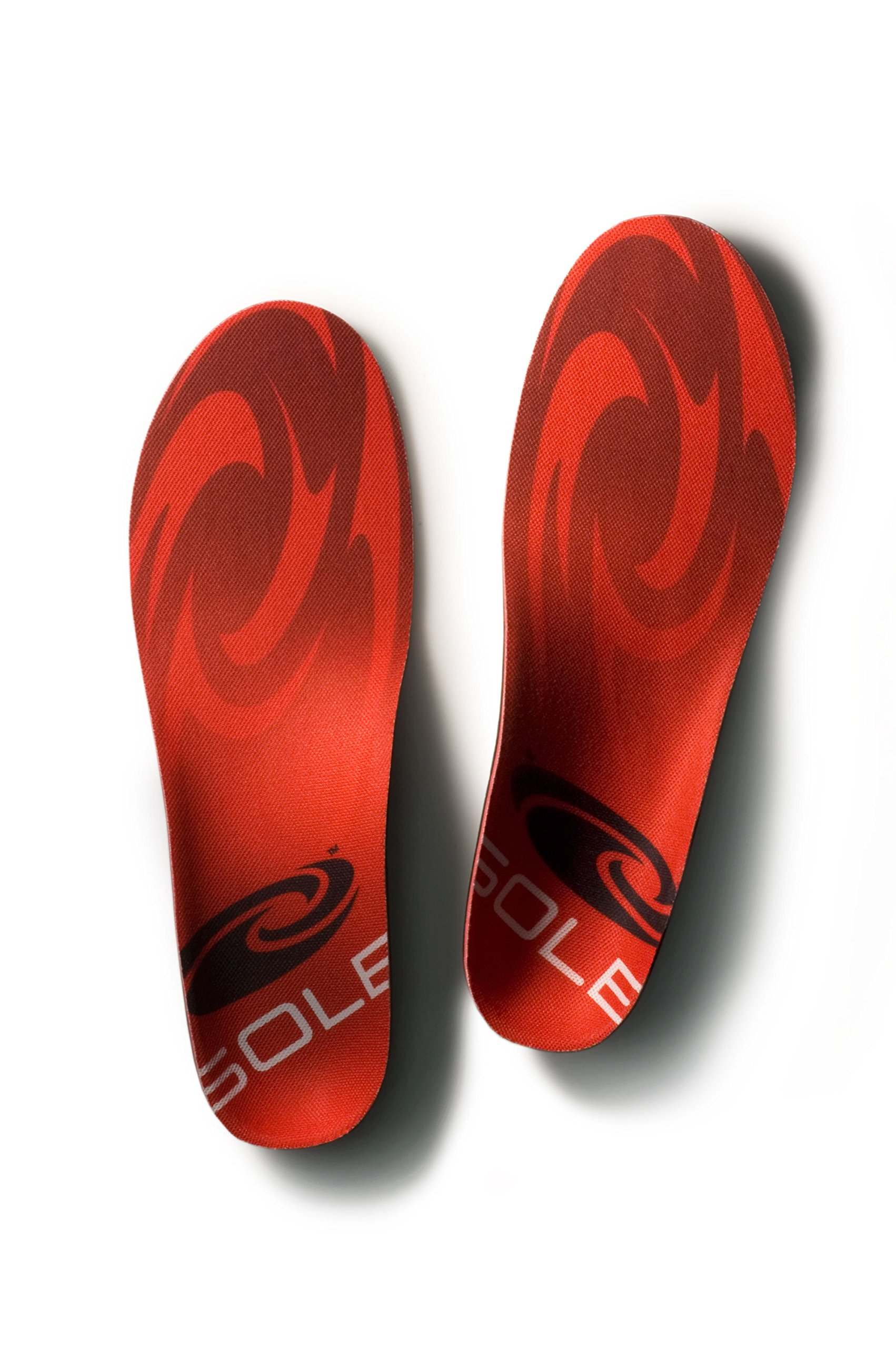 Sole Unisex Softec Regular Insole,Red/Grey,Men's 10.5-11 M/Women's 12.5-13 M by Sole