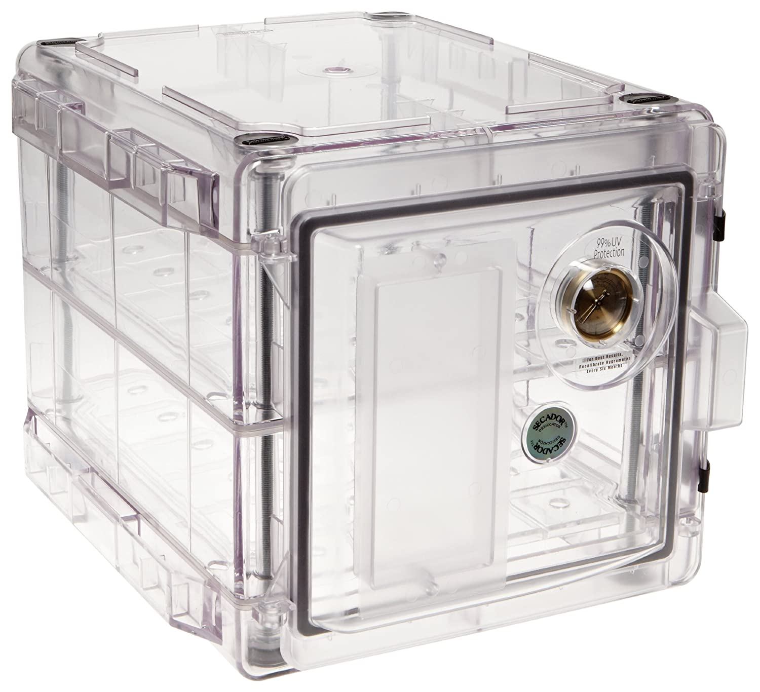 Bel-Art Secador Clear 4.0 Vertical Desiccator Cabinet with Blue End-Caps; 1.9 cu. ft. (F42074-1006): Science Lab Desiccator Accessories: Amazon.com: Office ...