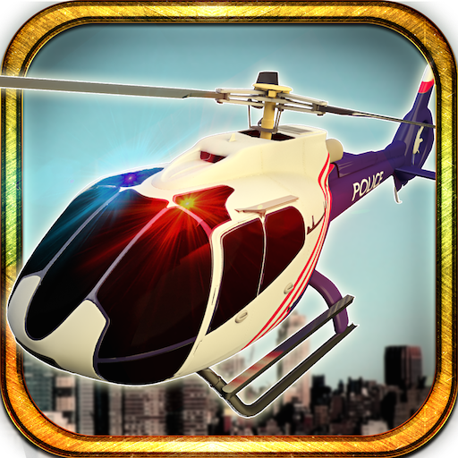 City Police Helicopter On Duty Rescue Mission Survival Game: Transport Civilians In Flight Simulation Awesome Adventure Mission 2018 ()