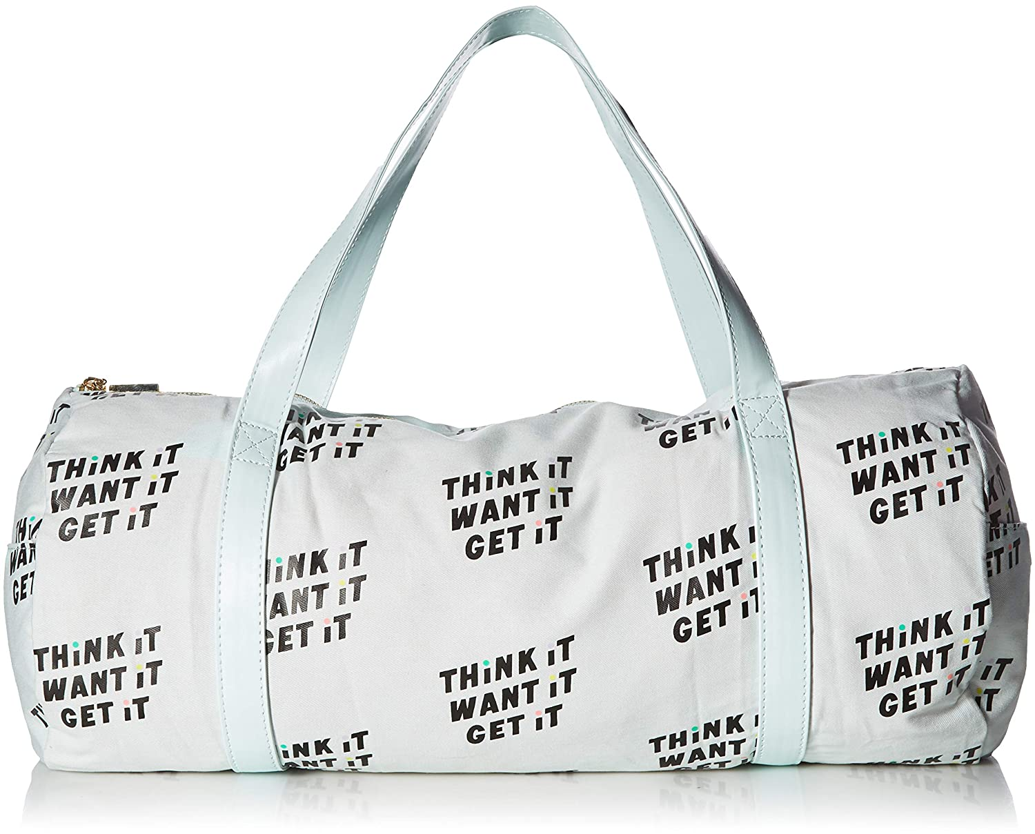 56050a91a78c Amazon.com  Bando Work It Out Think It Want It Get It Gym Bag  Sports    Outdoors