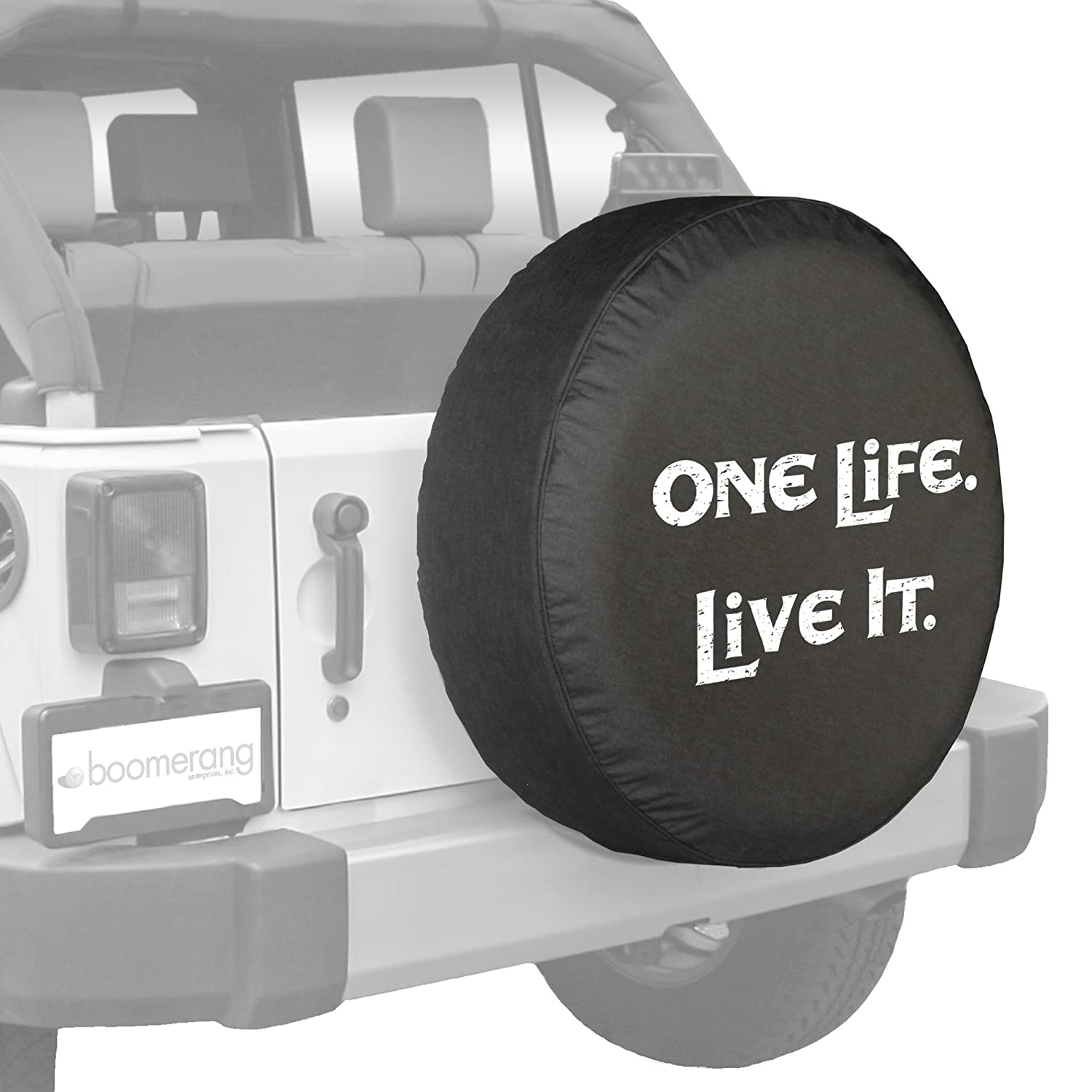 tire br spare amazon jeep cover com silver sparecover dp automotive covers