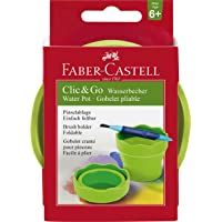 Faber and Castell CLIC&GO Water Cup, Green