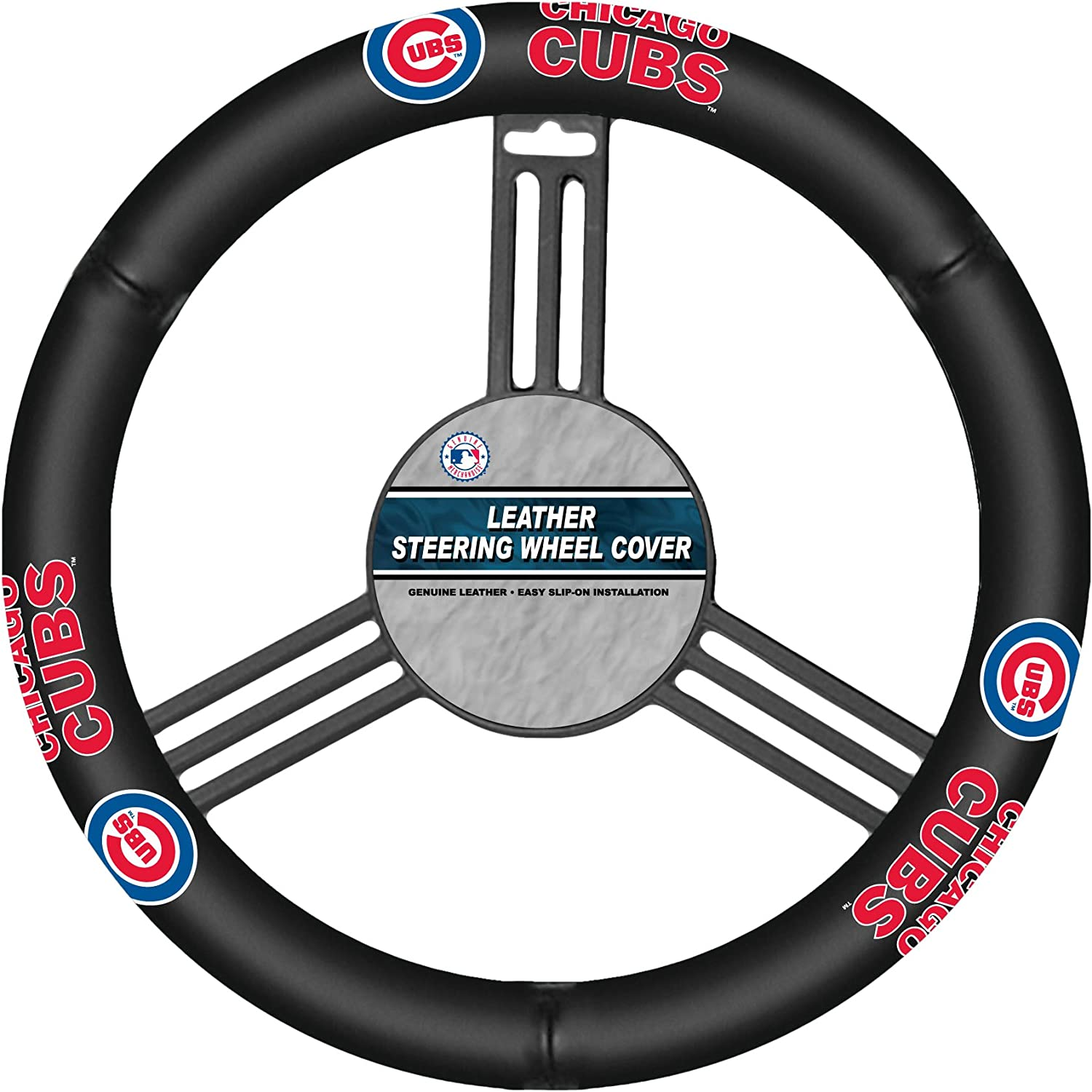 Fremont Die MLB Leather Steering Wheel Cover