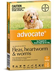 Advocate Dog Puppy <4kg Pet Meds