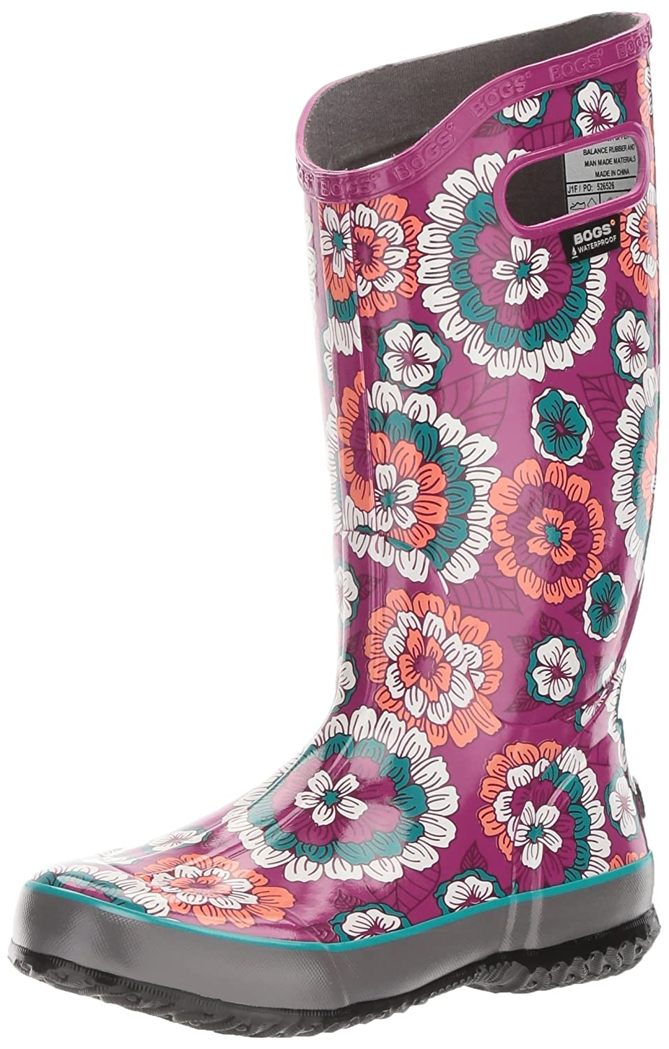 Women's Pansies Rain Boot