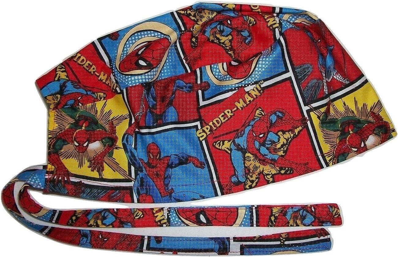 Spider Net Theme Scrub Hat