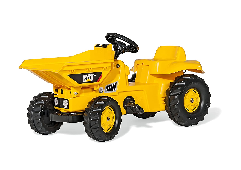 rolly toys rollyKid Dumper CAT Pedal Tractor - Juguetes de montar (520 mm, 930 mm, 440 mm, 6,6 kg, 815 mm, 400 mm)