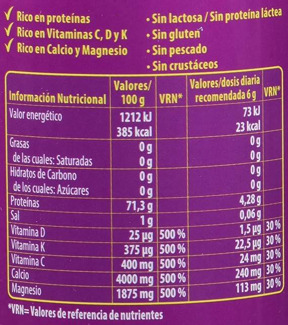 Almond Fortigel Colágeno Bioactivo, Complemento alimenticio en polvo - 180 Comprimidos: Amazon.es: Salud y cuidado personal