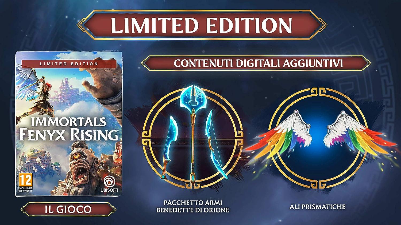 immortals fenyx rising limited edition offerte e contenuti