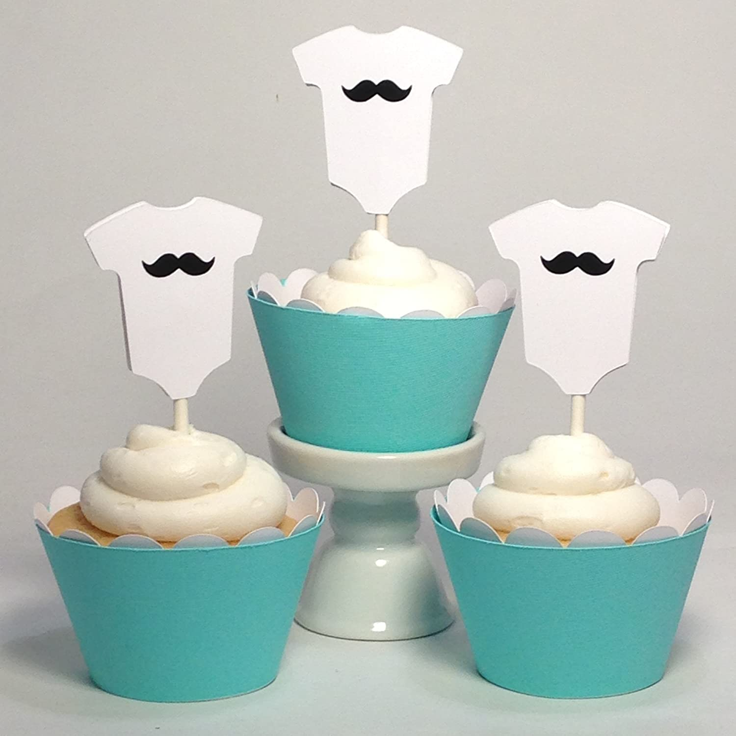 Amazon Piece of Cake Parties Baby Shower Cupcake Toppers
