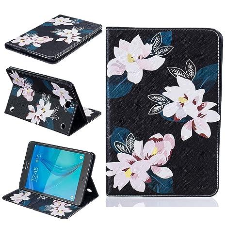 Amazon.com: Galaxy Tab A 8.0 Case, arte color pintura piel ...