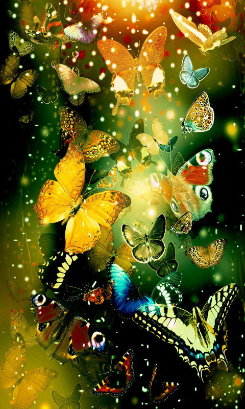 Amazon neon butterfly touch live wallpaper appstore for android voltagebd Images