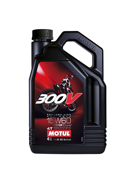 Motul 300V Factory Line 4T 104138 Off Road 15W-60, 4 L