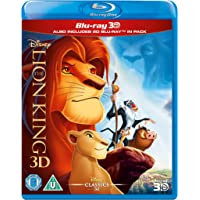 The Lion King 3D (Blu-ray 3D, Includes 2D) [Region Free]
