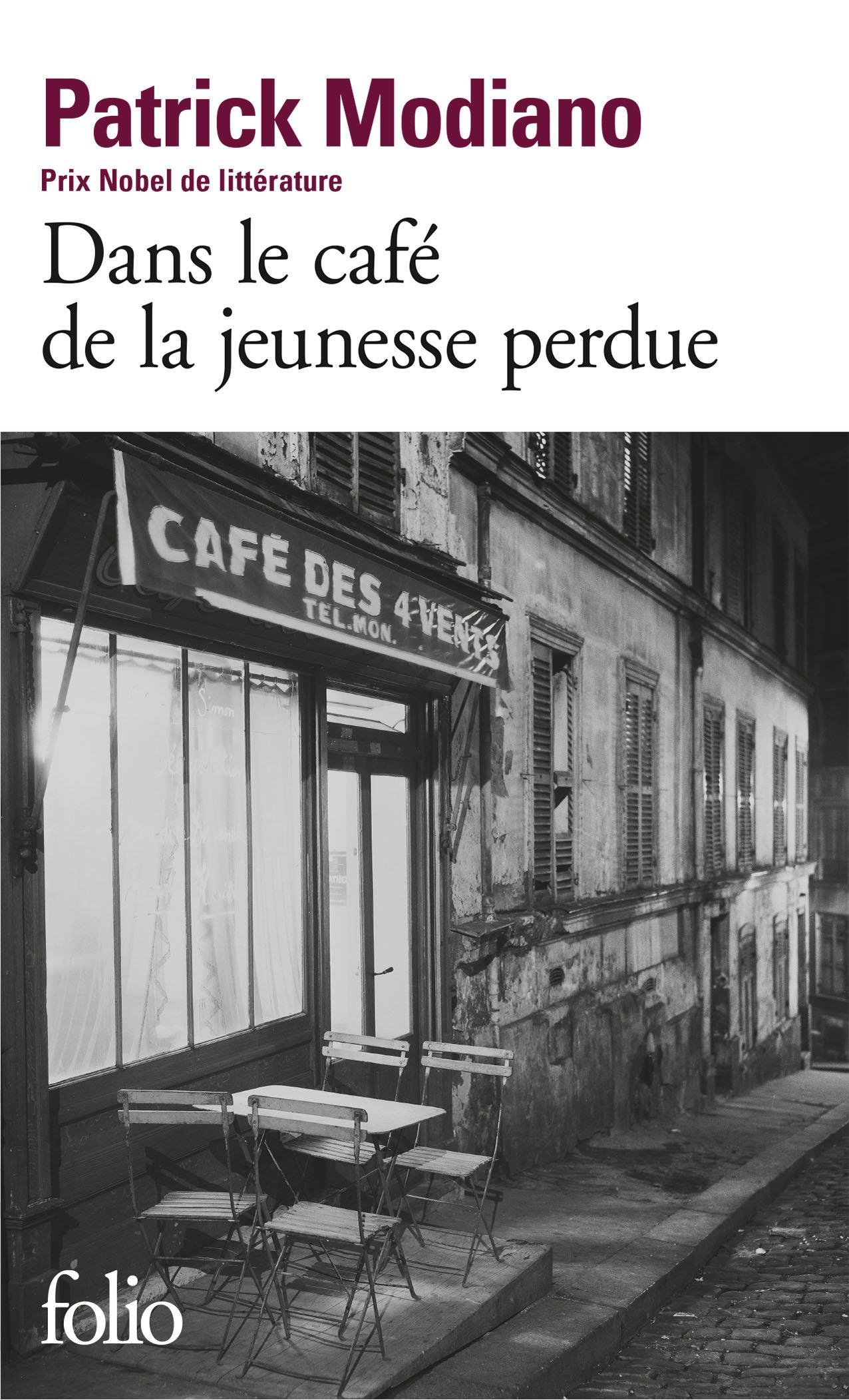 Image result for modiano dans le cafe de la jeunesse perdue