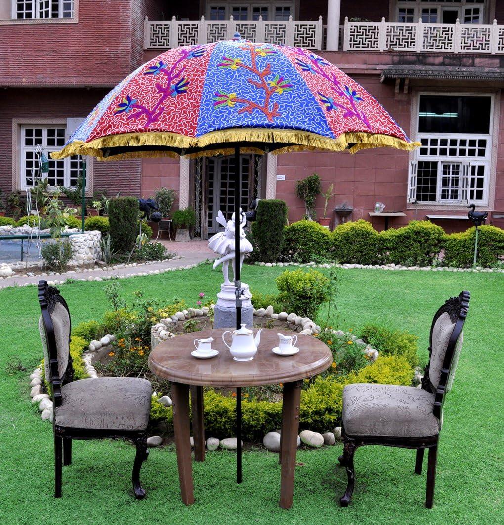 Vintage Jardín paraguas al aire libre para sombrilla grande: Amazon.es: Hogar