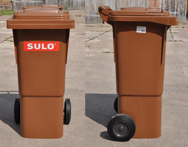 SULO dustbin waste bin dustbin waste separation Rest BIN 50 L Round alubügel