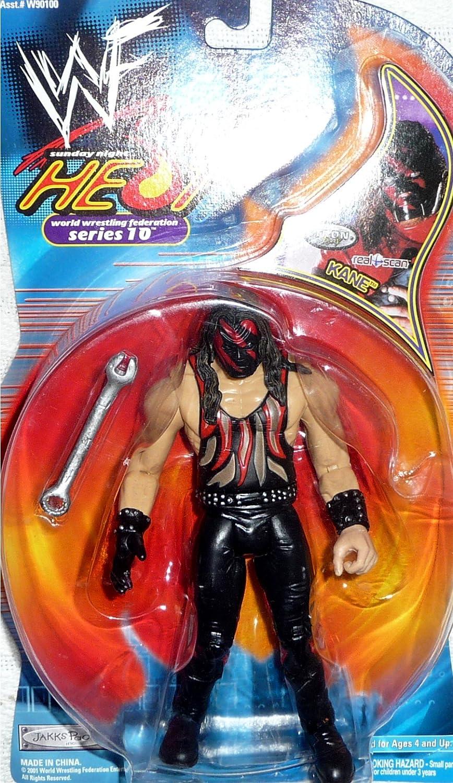 ordene ahora los precios más bajos KANE - - - WWE Wrestling Sunday Night Heat TTL Series 10 WWF Figure by Jakks by Jakks Pacific by Jakks Pacific  tienda de pescado para la venta