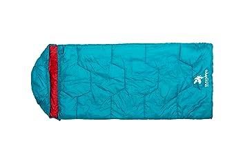 Kounga Roraima Jr Saco de Dormir, Unisex niños, Azul/Rojo, L