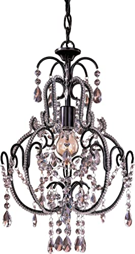 Minka Lavery Crystal Chandelier Lighting 3123-489