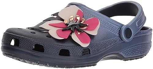 3e98a14c8 Crocs Women s Classic Botanical Floral Clog  Amazon.co.uk  Shoes   Bags