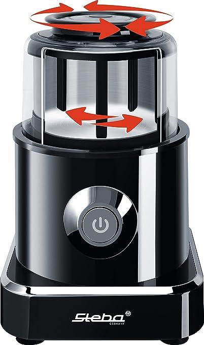 Steba MG 500 picadora eléctrica de Alimentos 0,5 L Negro, Acero Inoxidable 500 W: Amazon.es: Electrónica