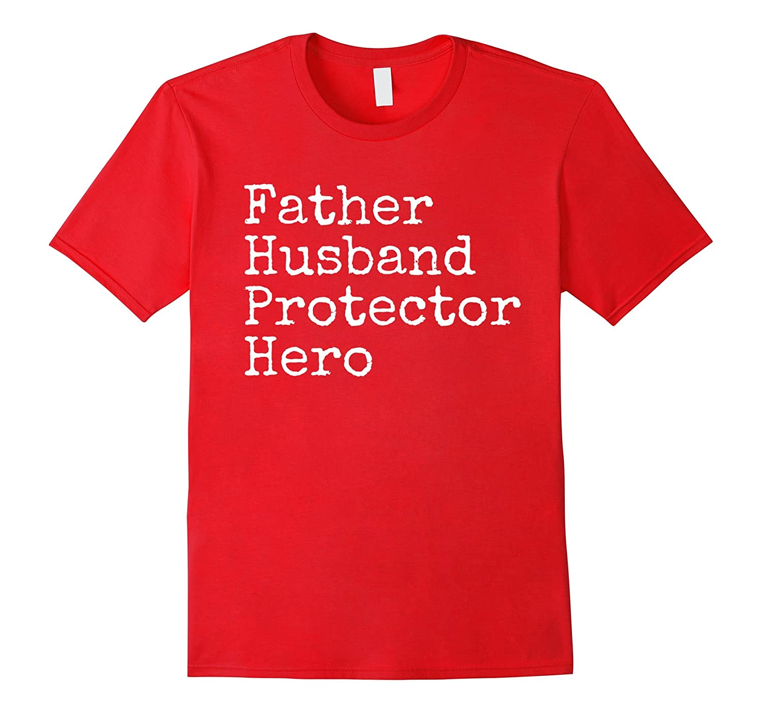 Father Husband Hero Shirt Dad Memorial Fathers Day Gift-CD