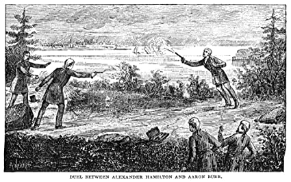 Amazon com: Hamilton-Burr Duel 1804 Nan ArtistS Reconstruction Of