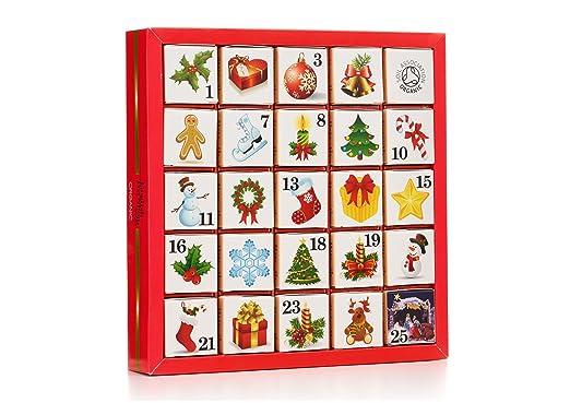 English Tea Shop Organic Christmas Ornaments Advent Calendar Pack