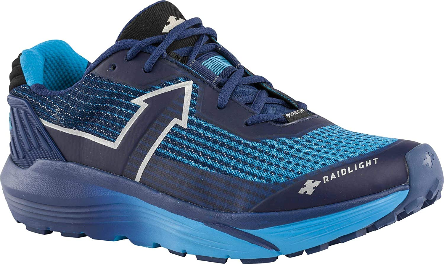 Navy bluee RaidLight Mens Responsiv Ultra Trail Running shoes